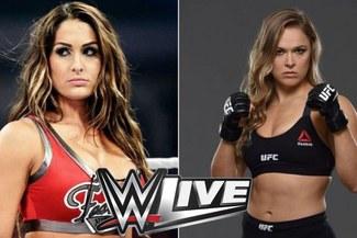 WWE: Ronda Rousey y Nikki Bella lucharán juntas en el WWE Live de España | CARTELERA