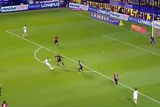 Boca Juniors vs Colón: Carlos Tévez y el golazo para poner el 3-0 [VIDEO]