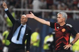 José Mourinho habló sobre Zinedine Zidane como 'su posible reemplazante' en Manchester United
