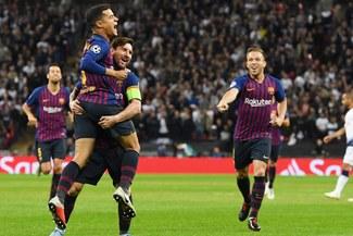 Barcelona ganó 4-2 al Tottenham con doblete de Messi por la Champions League [RESUMEN Y GOLES]