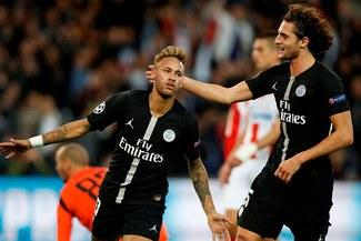 PSG con triplete de Neymar, golearon 6-1 al Estrella Roja por la Champions League [RESUMEN Y GOLES]