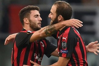 AC Milan venció al Olympiacos en la Europa League y sumaron 7 partidos sin perder
