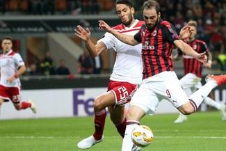 Milan 3-1 Olympiacos: 'Rossoneros' ganaron por la Europa League [RESUMEN Y GOLES]