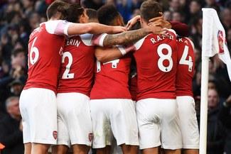 Arsenal sigue imbatible en la Europa League
