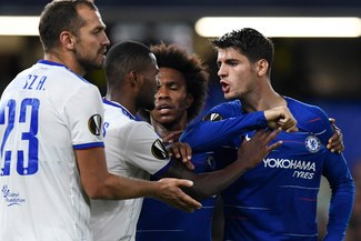 Chelsea lidera su grupo con puntaje perfecto en la Europa League