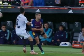 Jordi Alba y su espectacular taco en el Barcelona vs Valencia [VIDEO]
