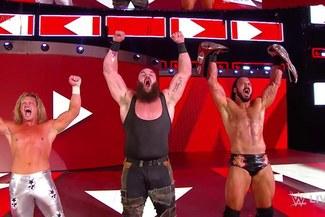 WWE RAW: The Shield cayó derrotado ante Strowman, Ziggler y Drew McIntyre