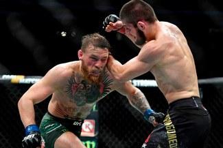 ¡Exclusivo! Conor McGregor se disculpó en plena pelea con Khabib [VIDEO]