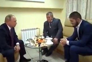 UFC: Vladimir Putin felicitó a Khabib por 'destrozar' a Conor McGregor