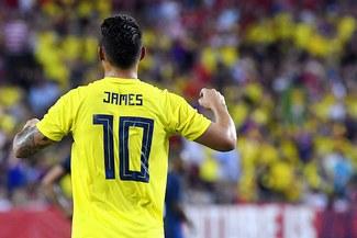 James Rodríguez jugaría en la Juventus en el 2019
