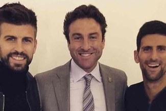 """Djokovic y Piqué tras reunirse por la nueva Copa Davis: """"El encuentro fue muy bien"""""""