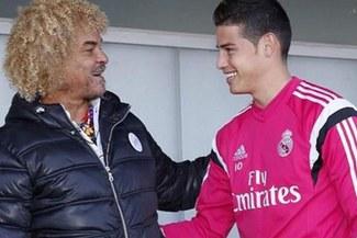 'El Pibe' Valderrama comentó la situación de James Rodríguez en el Bayern Múnich