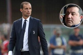 Cumbre entre la Juventus y Mino Raiola por tres futbolistas