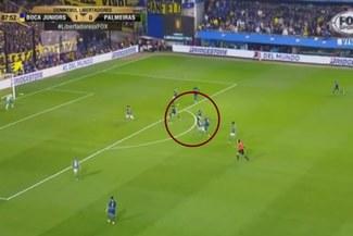 Boca Juniors vs Palmeiras: Golazo de Pipa Benedetto para el 2-0 'Xeneize' en la Copa Libertadores [VIDEO]