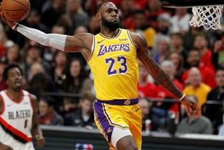 De la mano de LeBron James, Lakers ganó 121-114 a Nuggets y sumó su segundo triunfo en la NBA 2018-19