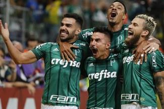 Sigue en lo más alto: Palmeiras venció 3-2 a Santos por la fecha 32 del Brasileirao [RESUMEN Y GOLES]