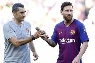 ¿Lionel Messi jugará el Inter vs Barcelona? La respuesta de Ernesto Valverde
