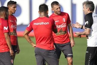 Selección Peruana inició entrenamientos con suspenso por comunicado de la FIFA