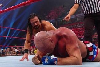 WWE RAW: Kurt Angle quedó fuera del Survivor Series tras perder con Drew McIntyre [VIDEO]