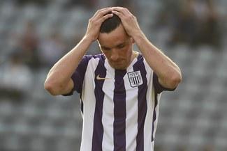 Mauricio Affonso se lesionó en Ayacucho y peligra su presencia ante Sport Huancayo