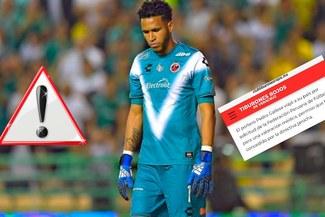 Pedro Gallese se lesiona en Veracruz y adelanta viaje para estar en la Selección Peruana [FOTO]