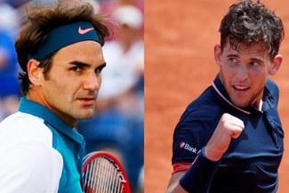 Roger Federer venció a Dominic Thiem por 6-2 y 6-3 por el Masters de Londres 2018 [RESUMEN]