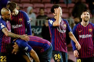 Barcelona es líder en España pero ha recibido 18 goles en 12 fechas de La Liga