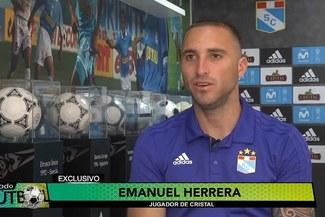"""Emanuel Herrera: """"A mí me encantaría jugar en la selección peruana, pero es difícil por la edad"""""""