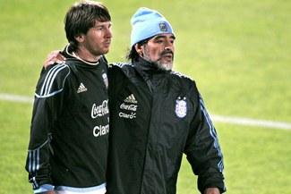"""Diego Maradona: """"Si Lionel Messi no regresa a la Selección Argentina, estamos al horno"""""""