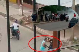 Sables, pistolas y ametralladoras en una guerra por la droga entre barras argentinas [VIDEO]