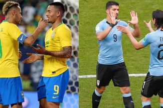 Uruguay vs Brasil ver EN VIVO: igualan 0-0 en amistoso de fecha FIFA 2018