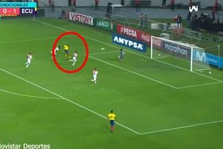 Perú vs Ecuador EN VIVO: Enner Valencia marca el 2-0 tras una serie de errores en la defensa nacional [VIDEO]