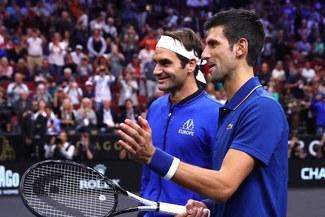 Masters de Londres: Roger Federer y Novak Djokovic podrían verse en la final