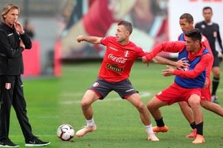 Perú vs Costa Rica: Ricardo Gareca sorprendió con un nuevo once en los entrenamientos