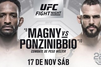 UFC Argentina VER EN VIVO DIRECTO por FOX Sports: Magny vs Ponzinibbio pelea hoy en Buenos Aires