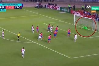 Perú vs Costa Rica: Jefferson Farfán anota el 2-2 de la 'Bicolor' con complicidad del portero [VIDEO]