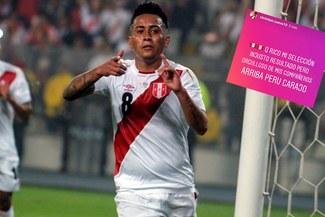 Perú vs Costa Rica: Christian Cueva a la distancia envía un mensaje de apoyo después de la derrota [FOTO]