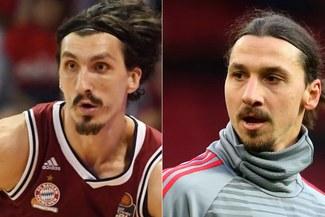 Basquetbolista es el 'gemelo' de Zlatan Ibrahimovic, pero sufre porque lo confunden siempre [VIDEO]