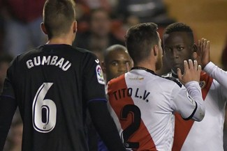 Rayo Vallecano, con Luis Advíncula, cayó 1-0 con Leganés y fue eliminado de la Copa del Rey [VIDEO]