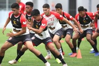 Las postales del arduo entrenamiento de la Selección Peruana con miras al Sudamericano Sub 20 [FOTOS]