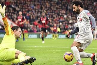 Mohamed Salah anotó tres goles en el triunfo del Liverpool sobre el AFC Bournemouth [VIDEO]