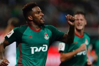 Los goles del doblete de Farfán para agónico triunfo del Lokomotiv Moscú [VIDEO]