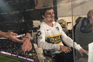 Antoine Griezmann estalló de emoción por el gol de Benedetto en el River vs Boca [VIDEO]