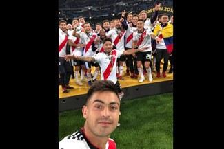 River Plate vs Boca Juniors: el selfie del campeón en Madrid
