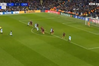 Manchester City vs Hoffenheim EN VIVO: Leroy Sané anotó 1-1 con golazo de tiro libre [VIDEO]