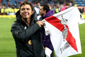 Marcelo Gallardo ingresó al top 3 de los mejores entrenadores del Mundo [FOTO]