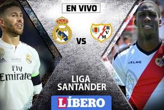 Real Madrid vs Rayo Vallecano EN VIVO por la fecha 16 de la Liga Santander