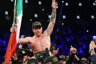 Canelo Álvarez derrotó por K.O. técnico a Fielding y es nuevo campeón supermediano de la AMB [RESUMEN]