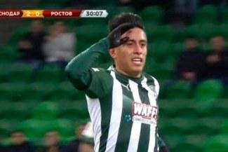 FC Krasnodar se enfrentará al Bayer Leverkusen con la participación de Christian Cueva