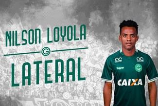 Nilson Loyola oficialmente es nuevo jugador del Goiás [FOTO]